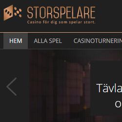 Storspelare.com – Bonus på dina 4 första insättningar
